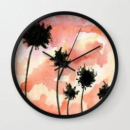 Santa Barbara Sunset Wall Clock