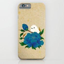 Minhwa: Crow-Tit and Peony C Type (Korean traditional/folk art) iPhone Case