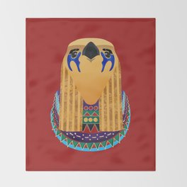Horus Chain Throw Blanket