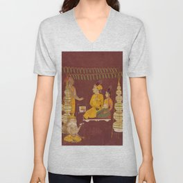 Wedding Ceremony with Brahma in Attendance Unisex V-Neck