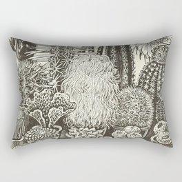Cacti And Succulents Rectangular Pillow