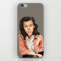 harry styles iPhone & iPod Skins featuring Harry Styles by meep