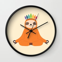 Master Of Calm Wall Clock
