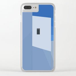 Postcards from Greeces Clear iPhone Case