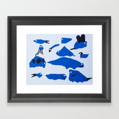 Whimsical Critters Framed Art Print