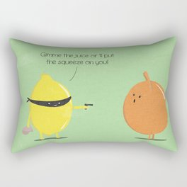 Lemon thief Rectangular Pillow