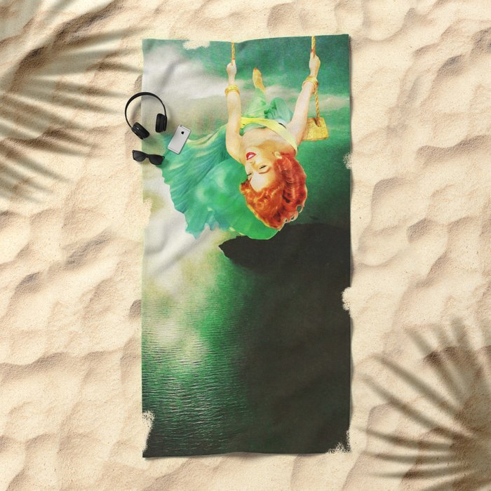 Hanging On Beach Towel