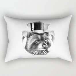 PROPERLY DRESSED FOR A SPECIAL OCCASION Rectangular Pillow