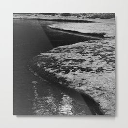 Snowy River Bank 2 Metal Print