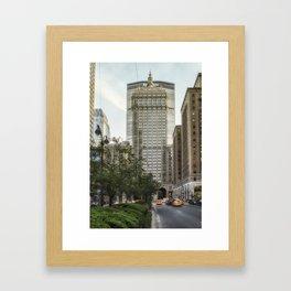 Park Avenue Midtown Framed Art Print