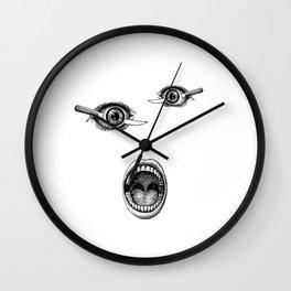 Allusion to Bunuel Wall Clock