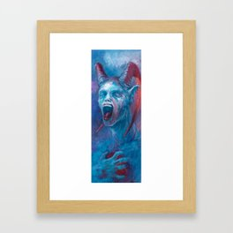 FORKED TONGUE Framed Art Print