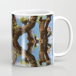 The Floating Sacred Branches (Mandala-esque #130a) Coffee Mug