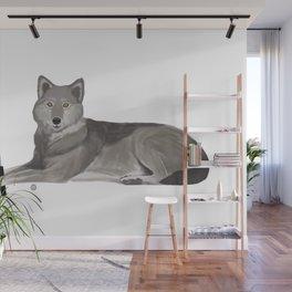 Golf Wolf Wall Mural