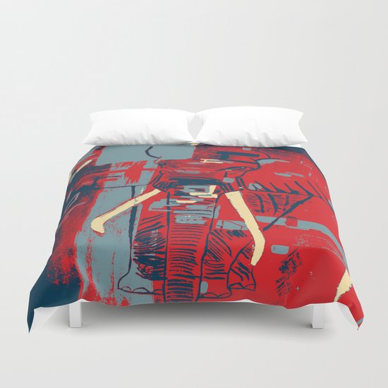 The Ringleader Duvet Cover