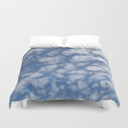 TEXTURES:Just Clouds #2 Duvet Cover