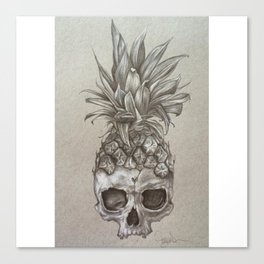 PineSkull Canvas Print