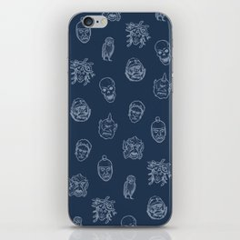 Little Monsters (blue) iPhone Skin