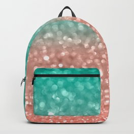 Coral Meets Sea Backpack