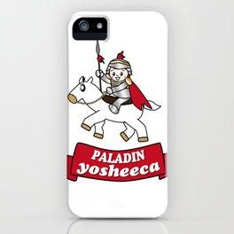 PALADIN yosheeca iPhone Case