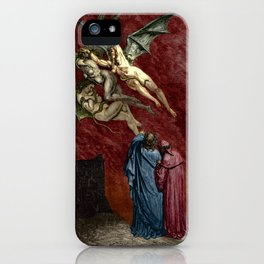 Dante and the Erinyes iPhone Case