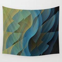 wings Wall Tapestries featuring Wings by David Lee