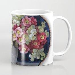 Elegant Vintage Flower Vase Coffee Mug