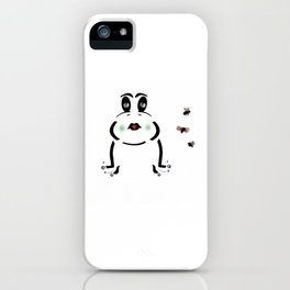 Frog & Flies iPhone Case