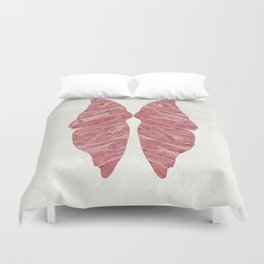 Abstract Butterfly Wings Design Duvet Cover