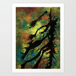 Light & Darkness Art Print