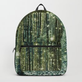 Magical Forest Old Money Green Backpack