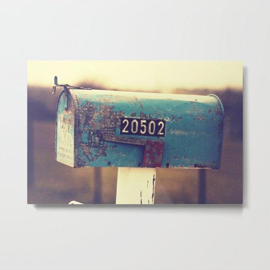 2 0 5 0 2 { you've got mail series} Metal Print