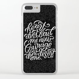 Journey to the Past Clear iPhone Case