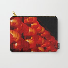 Vibrant red Chinese lanterns Carry-All Pouch