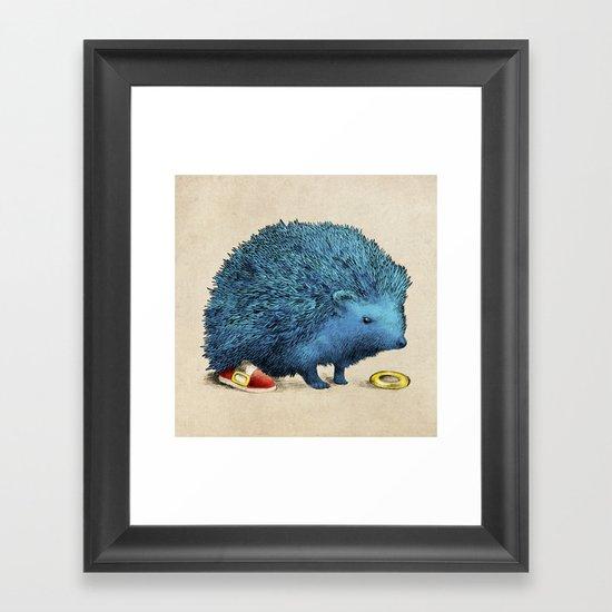 Sonic Framed Art Print