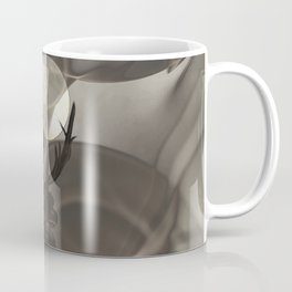 Stag Deer under Full Moon Matted Picture A363 Coffee Mug