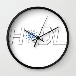 HODL Cardano Wall Clock
