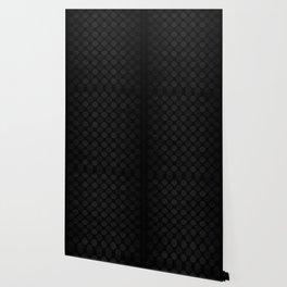 Black and white circles pattern Wallpaper