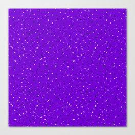 Speckles II: Purple Canvas Print