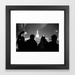 Watching the Empire Framed Art Print