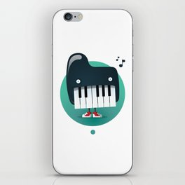 Piano Monster iPhone Skin