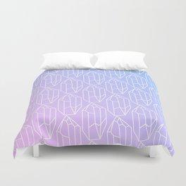 Crystal Pattern Duvet Cover
