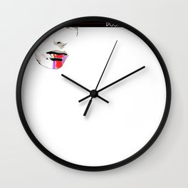 Make-up Face Wall Clock