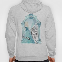 Frozen White Tiger Hoody
