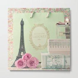 Parisian Sweet Tooth Metal Print