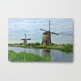 Ahh Yes The Netherlands  Metal Print