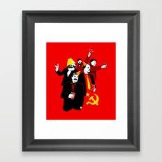 The Communist Party (variant) Framed Art Print