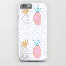 Pineapple. Illustration, print, pattern, fruit, design, fun, iPhone 6s Slim Case