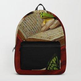 Gentle Reader Cropped Art Backpack