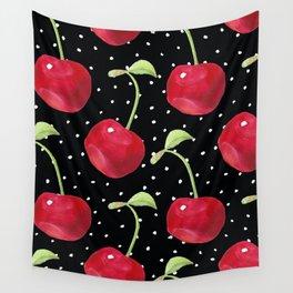 Cherry pattern III Wall Tapestry